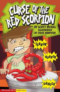 Graphic Sparks Curse of the Red Scorpion (Hardcover)