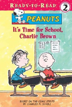 It's Time for School, Charlie Brown (Hardcover)