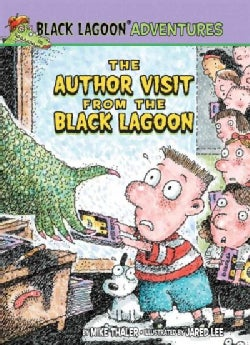 The Author Visit from the Black Lagoon (Hardcover)