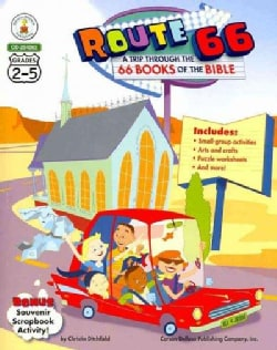 Route 66 a Trip Through the 66 Books of the Bible: Grades 2-5 (Paperback)