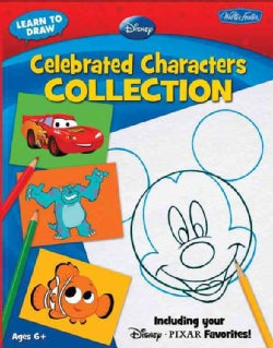 Learn to Draw Disney Celebrated Characters Collection (Paperback)