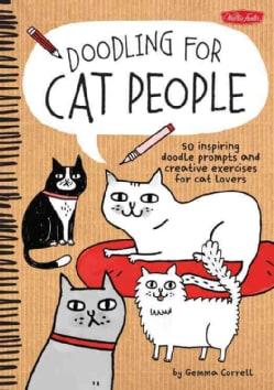 Doodling for Cat People (Paperback)