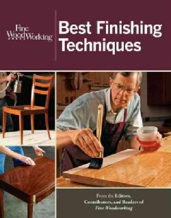Fine Woodworking Best Finishing Techniques (Paperback)