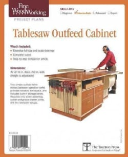 Fine Woodworking's Tablesaw Outfeed Cabinet Plan (Pamphlet)