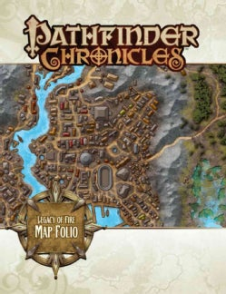 Pathfinder Chronicles: Legacy of Fire Map Folio (Paperback)