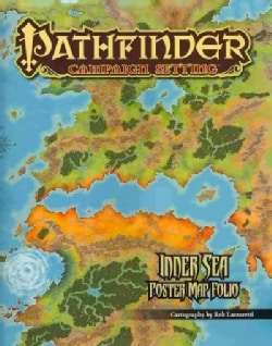 Pathfinder Campaign Setting: Inner Sea Poster Map Folio (Poster)