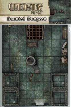 Gamemastery Flip-Mat: Haunted Dungeon (Paperback)