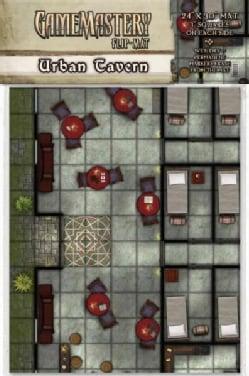 Gamemastery Flip-Mat: Urban Tavern (Paperback)