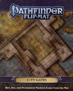 Pathfinder Flip-Mat: City Gates (Game)