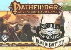 Pathfinder Adventure Card Game: Island of Empty Eyes Adventure Deck 4: Skull & Shackles (Cards)