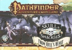 Pathfinder Adventure Card Game Skull & Shackles Adventure Deck 6 from Hell's Heart (Cards)