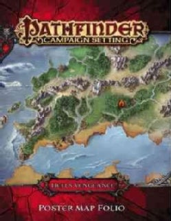 Pathfinder Campaign Setting Hells Vengeance Poster Map Folio (Game)