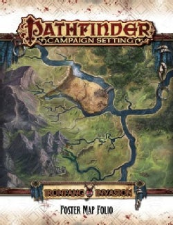 Pathfinder Campaign Setting: Ironfang Invasion Poster Map Folio (Game)