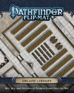 Pathfinder Flip-mat Arcane Library (Game)