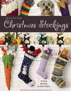 Crocheted Christmas Stockings (Paperback)