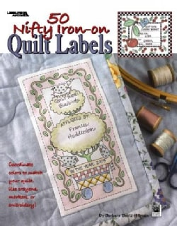 50 Nifty Iron-On Quilt Labels (Paperback)