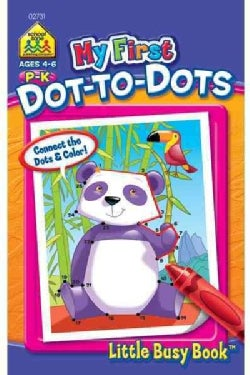 My First Dot to Dots: P-k Ages 4-6 (Paperback)