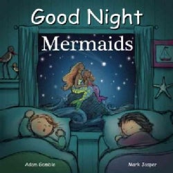 Good Night Mermaids (Board book)