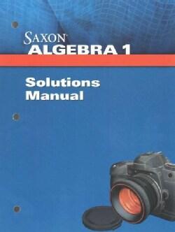 Saxon Algebra 1 (Paperback)