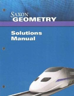Saxon Geometry (Paperback)