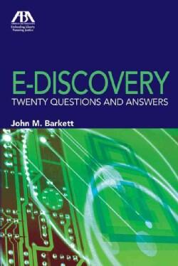 E-discovery (Paperback)