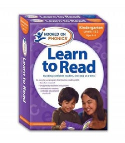 Hooked on Phonics Learn to Read Kindergarten Complete: Kindergarten Levels 1 & 2, Ages 4-6