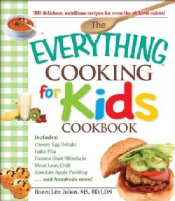 The Everything Cooking for Kids Cookbook (Paperback)