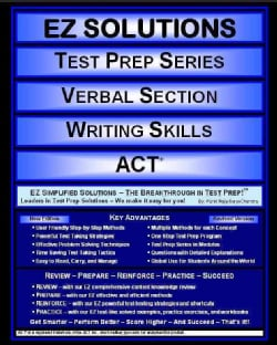 Verbal Section Writing Skills: ACT (Paperback)
