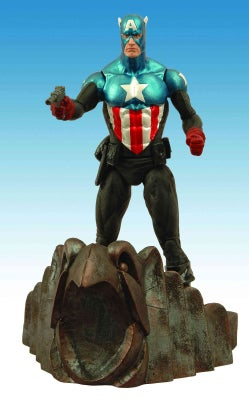 Marvel Select Captain America Action Figure (Toy)