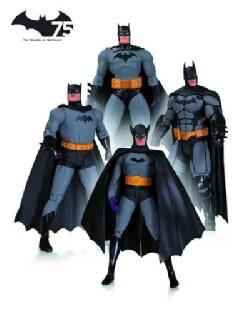 Batman 75th Anniversary Action Figure 4 Pack Set 1 (Toy)