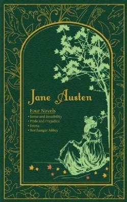 Jane Austen: Four Novels: Sense and Sensibility, Pride and Prejudice, Emma, Northanger Abbey (Hardcover)
