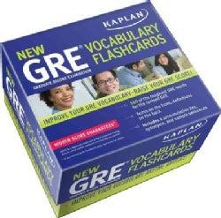 Kaplan New GRE Vocabulary Flashcards (Cards)