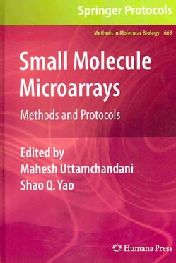 Small Molecule Microarrays: Methods and Protocols (Hardcover)
