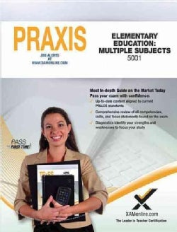 Praxis Elementary Education: Multiple Subjects 5001 (Paperback)