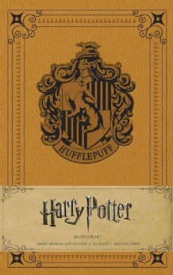 Harry Potter - Hufflepuff Hardcover Ruled Journal (Notebook / blank book)