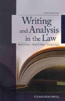 Writing and Analysis in the Law (Paperback)