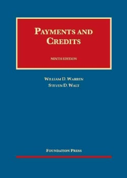 Payments and Credits (Hardcover)