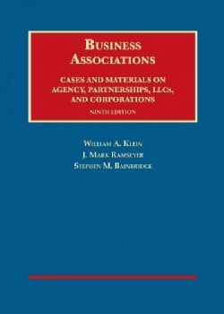 Business Associations, Cases and Materials on Agency, Partnerships, and Corporations (Hardcover)