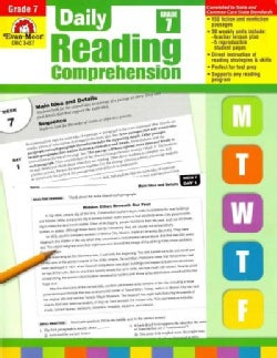 Daily Reading Comprehension, Grade 7 (Paperback)
