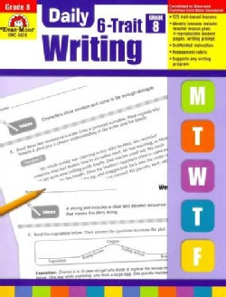 Daily 6-Trait Writing, Grade 8 (Paperback)