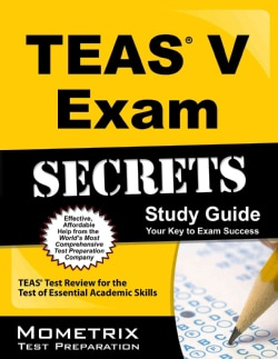 Secrets of the TEAS V Exam (Paperback)