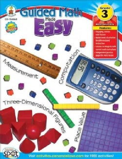 Guided Math Made Easy, Grade 3 (Paperback)
