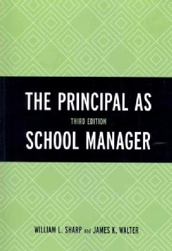The Principal As School Manager (Paperback)