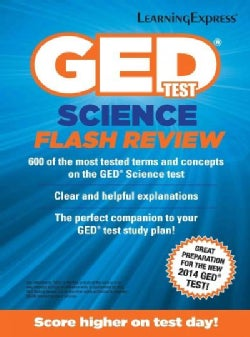 GED Test Science Flash Review (Paperback)