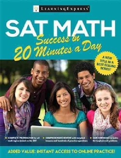 Sat Math Success in 20 Minutes a Day (Paperback)