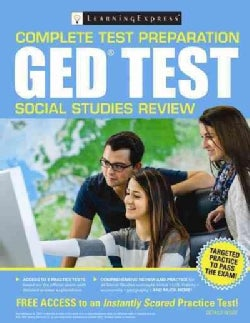 Ged Test Social Studies Review (Paperback)