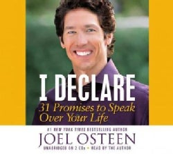 I Declare: 31 Promises to Speak Over Your Life (CD-Audio)