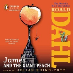 James and the Giant Peach (CD-Audio)