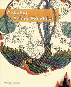 Coloring Animal Mandalas (Paperback)