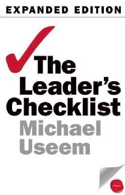 The Leader's Checklist: 15 Mission-Critical Principles (Paperback)